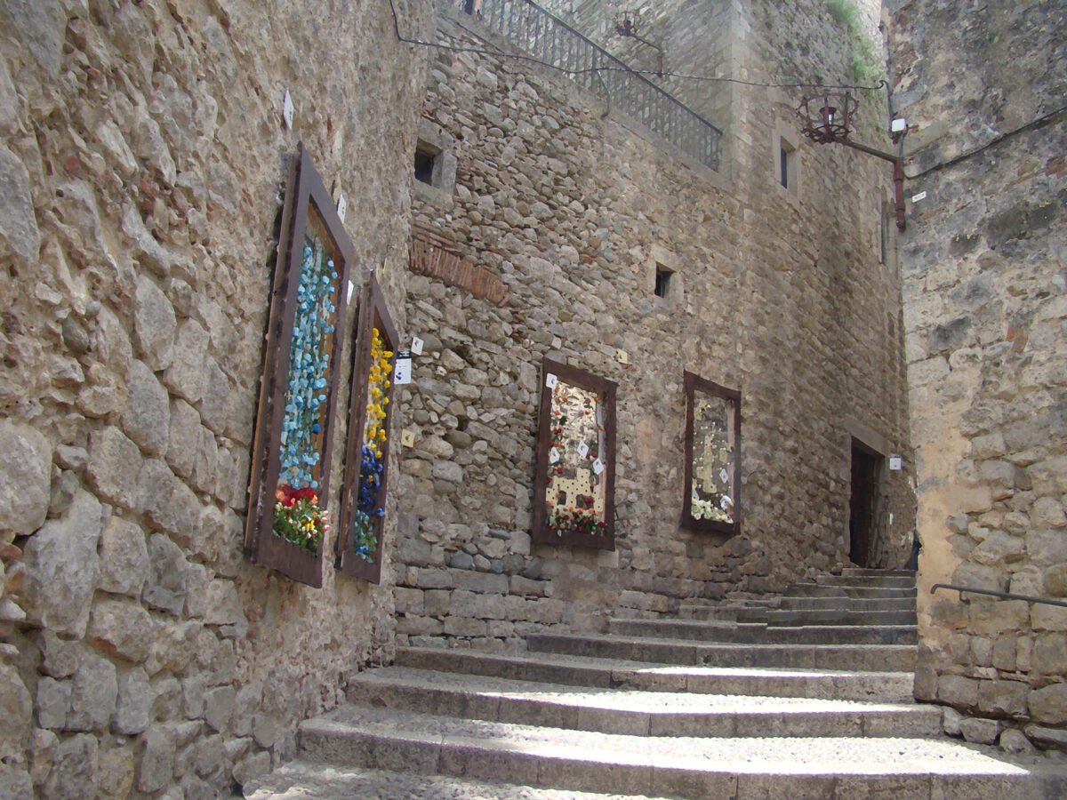 Exposició Girona Temps de Flors a Girona.